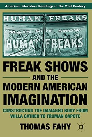 book cover of Freak Shows and the Modern American Imagination