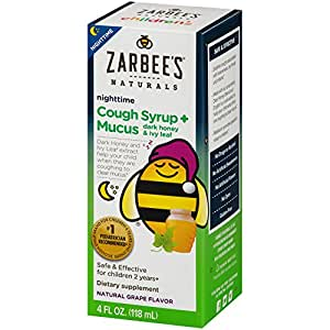 Zarbee S Naturals Children S Cough Syrup Mucus Nighttime