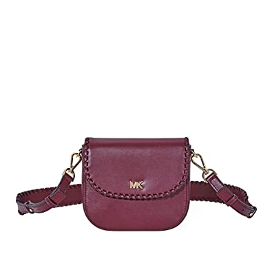 b98bf81f2999 Image Unavailable. Image not available for. Color  MICHAEL Michael Kors  Half Dome Crossbody (Oxblood)