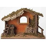 Fontanini 7.5'' Religious Italian Style Christmas Nativity Stable #50841