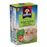 Instant Quaker Oats Dino Eggs Oatmeal, 6 Count