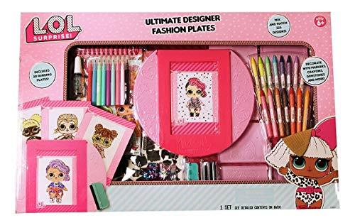 MGA LOL Surprise Ultimate Designer Fashion Plates Set