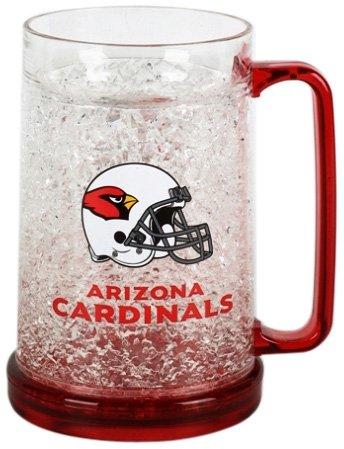 NFL Arizona Cardinals 16-Ounce Crystal Freezer Mug Arizona Cardinals Crystal