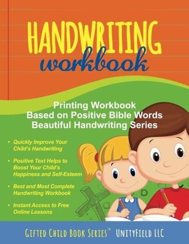 Handwriting: Printing Workbook | Bible Words