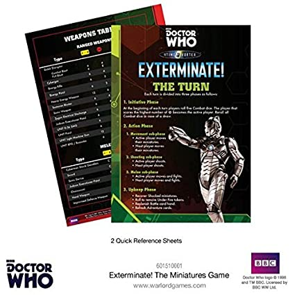 amazon com exterminate the doctor who miniatures game toys games