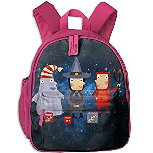 Halloween Hot Sale Child Shoulder School Bag School Backpack School Daypack For Teens Boys Girls Students Pink