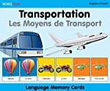 WordPlay Language Memory Cards–Transportation (English–French) (French and English Edition)