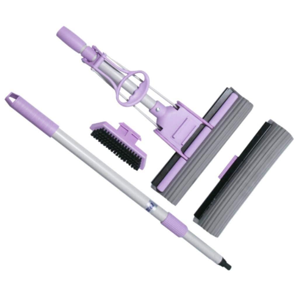 BCX la scopa di plastica di assorbimento d'acqua in plastica viene fornita con prodotti per la pulizia della spazzola viola