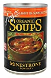 USDA organic. Light in sodium. Responding to customer requests, our chefs have created a line of Light in Sodium soups with all the flavor and goodness of our regular soups, but containing 50% less sodium. Contains 290 mg of sodium compared t...