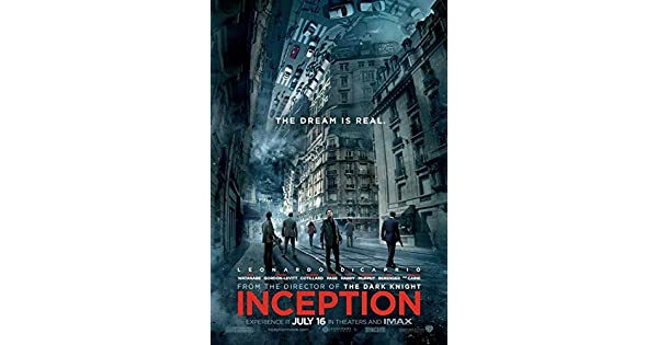 Amazon.com: Inception 27 x 40 Póster de la película: Home ...