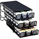DecoBros 3 Tier Drawer Storage Holder 54 Keurig K-cup Coffee Pod