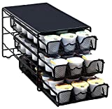 DecoBros 3 Tier Drawer Storage Holder 54 Keurig K-cup Coffee Pod (Kitchen)