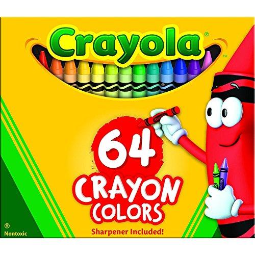 Crayola Crayons Box,64 Count (Case of 48) by Crayola (Image #1)