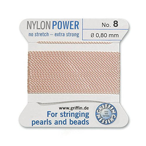 - Griffin Bead Cord Nylon Pink #8