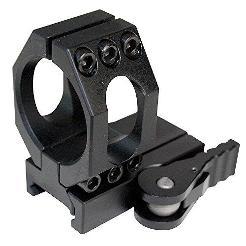 American Defense AD-68-L STD Riflescope Optic Mount, Black by American Defense Mfg.