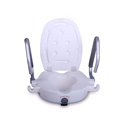 Miraculous Amazon Com Raised Toilet Seat Portable Elevated Riser With Pdpeps Interior Chair Design Pdpepsorg