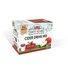 Grove Square Apple Cider Mix, Spiced, 24 Single Serve Cups