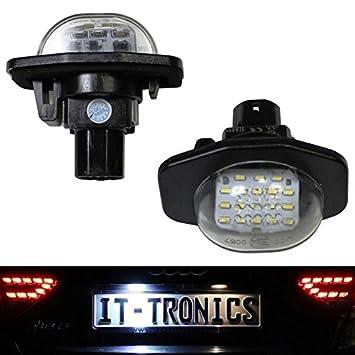 LED luces matrícula trasera adecuado para Toyota Auris, Corolla, Scion: Amazon.es: Coche y moto