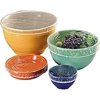 Juego de 50 cubiertos de tazón para jardín y exteriores, translúcidos, talla única Se ajusta a todos