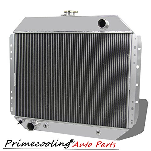 3 Row Tri-Core Full Aluminum Radiator for Ford F Series, F100 F150 F250 F350 Bronco 1966-79 (Ford 1970 Truck Parts)