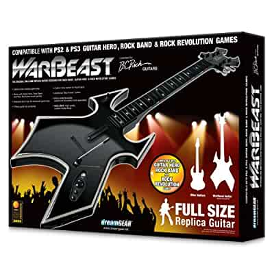 playstation 3 warbeast guitar video games. Black Bedroom Furniture Sets. Home Design Ideas