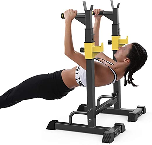 Sturdy Home Chest Triceps Muscle Power Exercise Equipment Dipping Station Heavy Duty Dip Stand Pull Push Up Dip Bar Fitness Workout Dip Bar Station Stabilizer Push Up Rack Ship from US