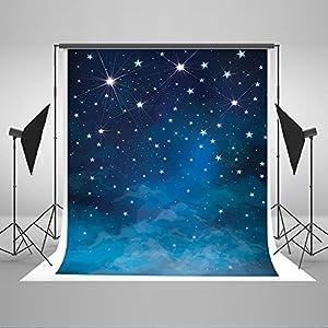 5x7ft Newborn Photography Backdrops Evening Blue Sky Lighting Stars Photo Props for Kids JXUS-J01780-1 & Amazon.com: 5x7ft Newborn Photography Backdrops Evening Blue Sky ... azcodes.com