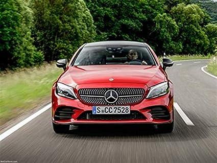 Mercedes C Class Coupe >> Amazon Com Mercedes Benz C Class Coupe 2019 Poster 18 X 24