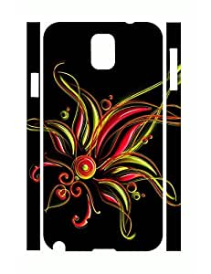lintao diy Fashion Individualized Classy Flower Pattern Rugged Phone Aegis Case for Samsung Galaxy Note 3 N9005