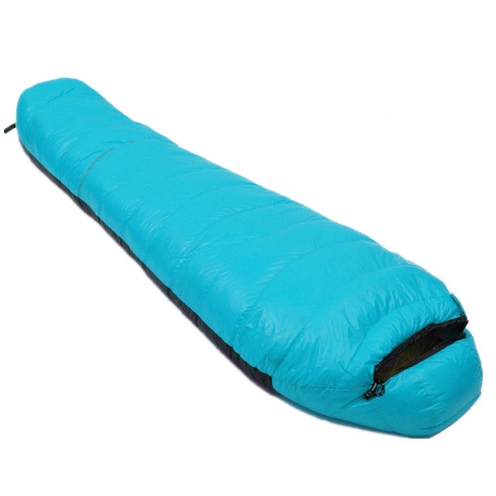 SHUIDAI bolsas de dormir adultos de camping al aire libre espesantes sacos de dormir , blue: Amazon.es: Deportes y aire libre