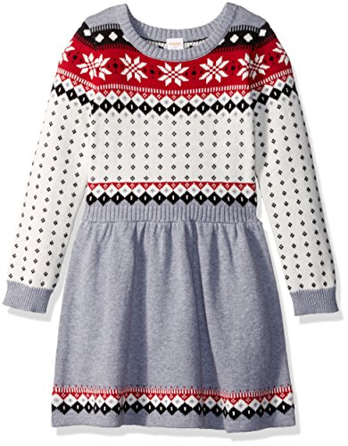 Gymboree Little Girls' Fairisle Dress, Multi, 6