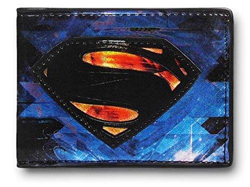 Man of Steel Superman Bioworld DC Comics Warner - Superman Wallet For Men