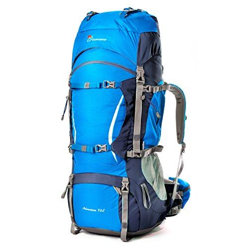 6e5e28bbdeaf Mountaintop 70L /75L バックパック メンズ リュック 登山 大容量ザック 軽量 長期旅行 ハイキング