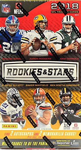 31872d6ee4a 2018 Panini Rookies & Stars NFL Football HOBBY box (6 pk)