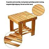 Step Stool,Bamboo Lightweight Foot Stool Chair