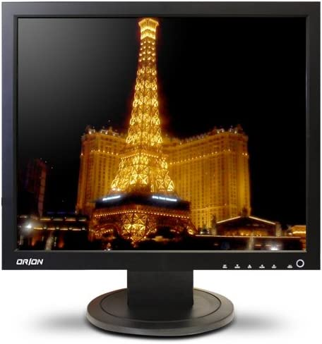 Orion Images Corp 17RTV Monitor LCD de 17 Pulgadas (Negro): Amazon.es: Electrónica
