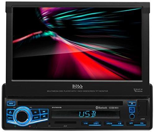 "Boss Elite BV860B Bluetooth DVD/MP3/CD/AM/FM Receiver w/ 7"""