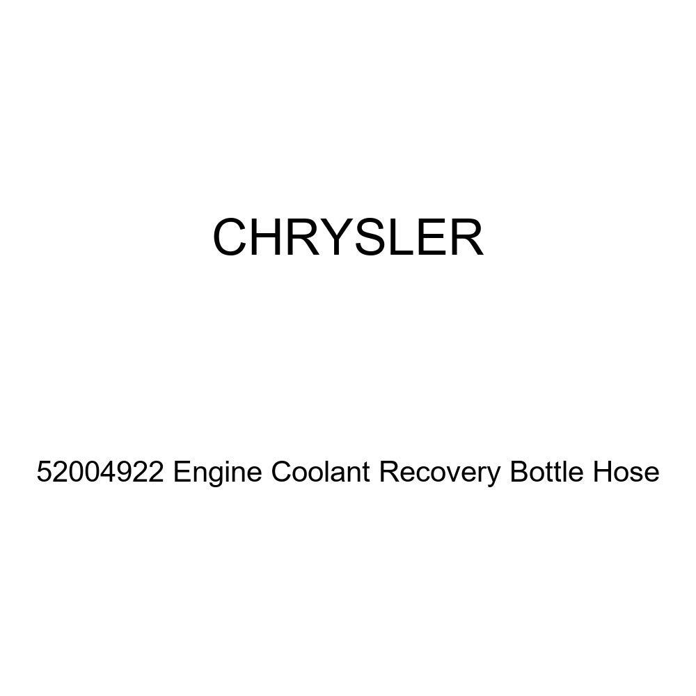 Genuine Chrysler 52004922 Engine Coolant Recovery Bottle Hose