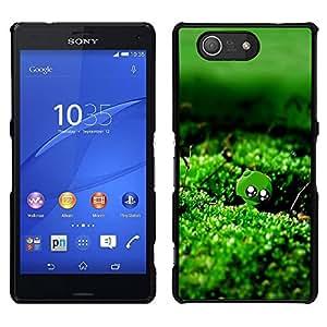 """For Sony Xperia Z3 Compact , S-type Naturaleza verde musgo Agua"""" - Arte & diseño plástico duro Fundas Cover Cubre Hard Case Cover"""