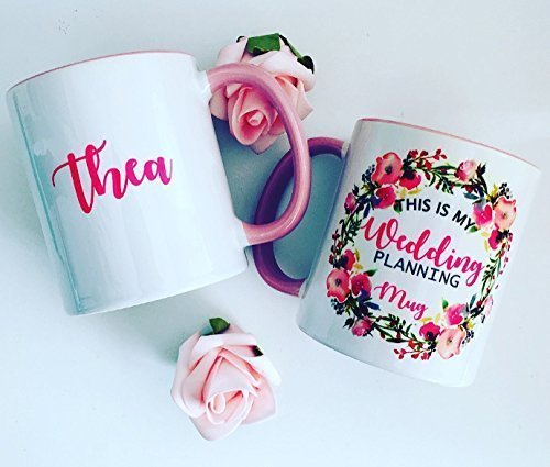 this is my wedding planning mug engagement bridal shower gift