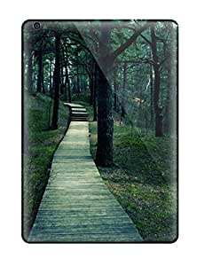 Bruce Lewis Smith Snap On Hard Case Cover Forest Protector For Ipad Air