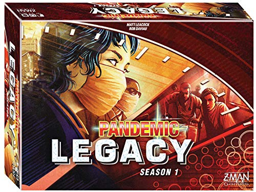 Pandemic: Legacy Season 1 (Red Edition) (One Tree Hill Best Show Ever)