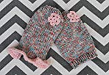 Teacup Puppy Dog Sweater XXXXS/XXXS 1 LB only! Teeny Tiny Dress w/Ruffle Kitten Rustic Pastel Pink for Chihuahua Yorkie Maltese Pomeranian Newborn Puppies