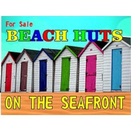 Para la venta de casetas de playa en el paseo marítimo de grandes regalos en lona