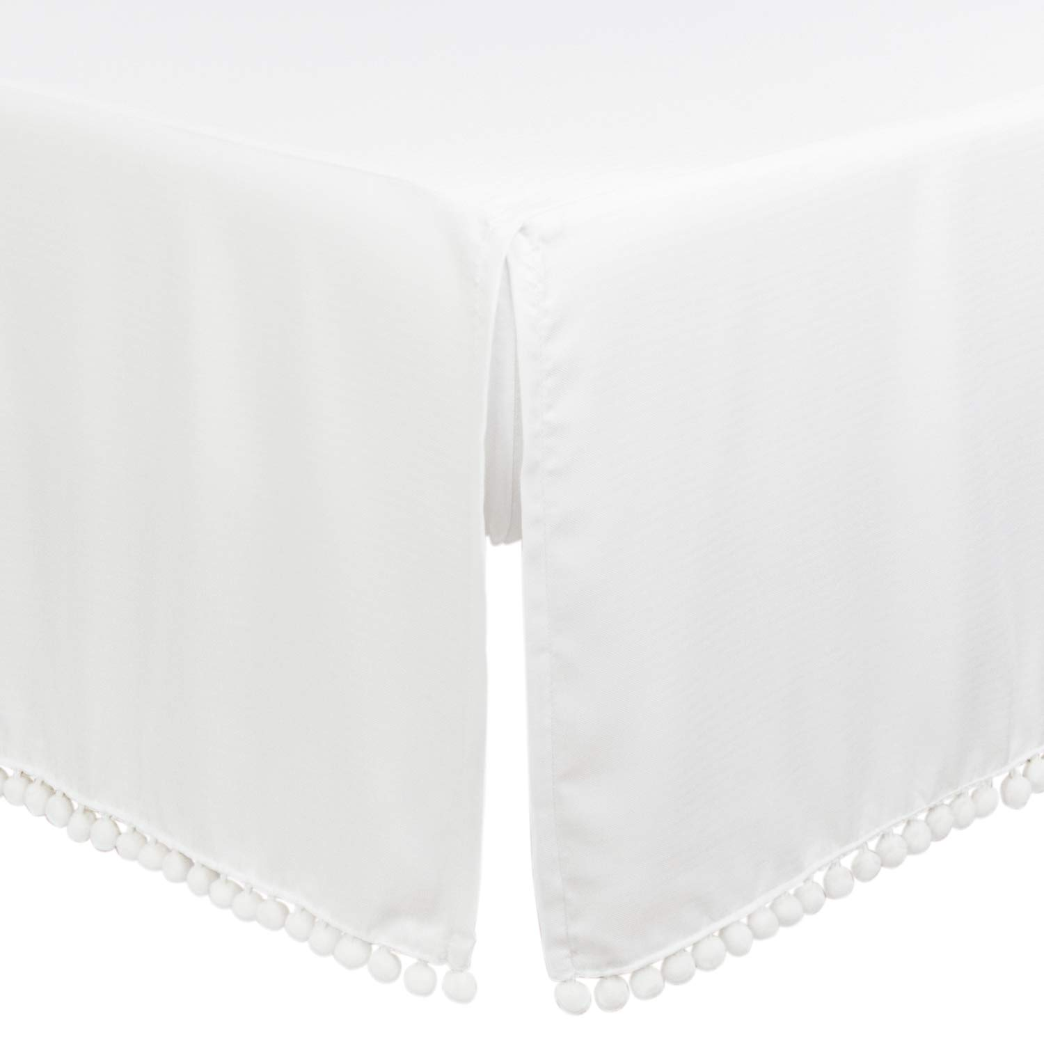 28 x 52in Fits Standard Crib /& Toddler Mattress 2 Pack White /& Navy Blue Breathable Cozy Hypoallergenic Baby Sheets For Boys and Girls TILLYOU Silky Soft Microfiber Crib Sheet Set