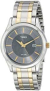 Timex Men's T2N799 Elevated Classics Dress Two-Tone Dress Watch