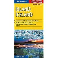 Reisekarte : Island
