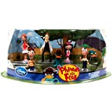 Disney Exclusive Phineas Ferb Figurine Playset