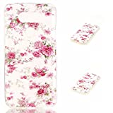 LG G5 Case,Veggzy [Drop Protection] Slim Lightweight Heavy Duty Shock Absorption Bumper Cover Ultra Thin Flexible Soft TPU Scratch Resistant Protective Case for LG G5 2016 (flower1)