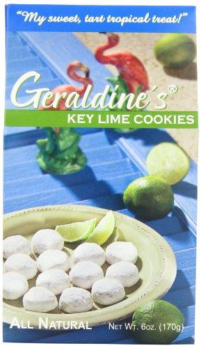 (Geraldine's Cookies, Key Lime, 6 Ounce)